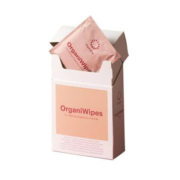 Organicup Organiwipes  Sanitizing For Menstrual Cups 10 Pack