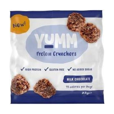 Yumm Milk Chocolate Protein Crunchers 23g x 10