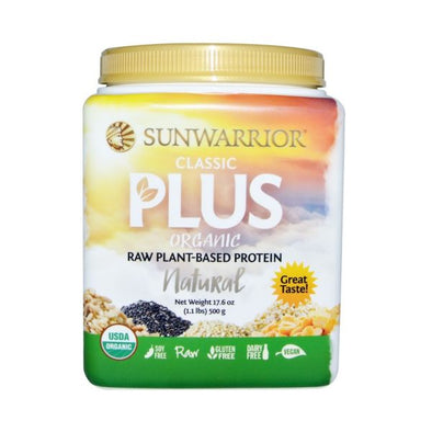 Xynergy Health Products Sunwarrior Organic Classic Plus  Natural 500g
