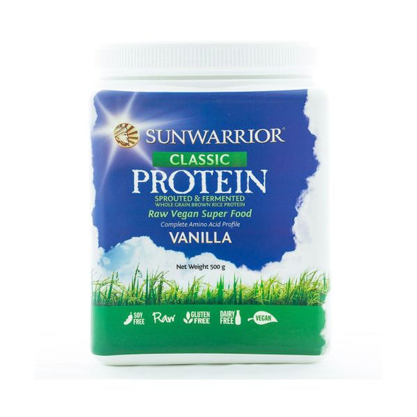 Xynergy Health Products Sunwarrior Classic Protein  Vanilla 500g