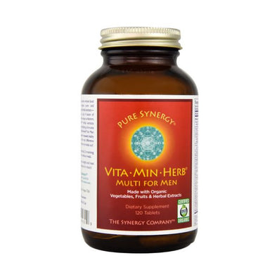 Xynergy Health Products Synergy Company Vita Min Herb Multi For Men Tablets 120s