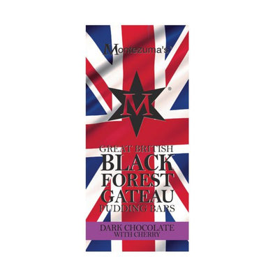 Montezuma's Great British Pudding Bar  Black Forest Gateau 100g x 12