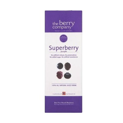 The Berry Company Berry Juice Co Superberries Purple Juice Drink 1Ltr