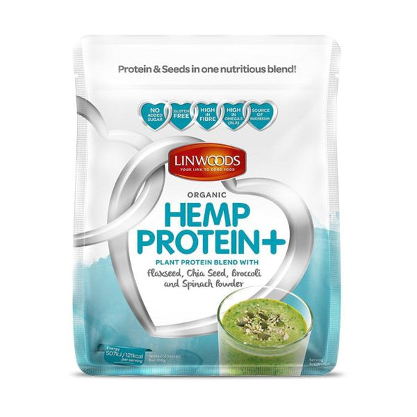 Linwoods Hemp Protein+ Flaxseed Chia & Greens 360g