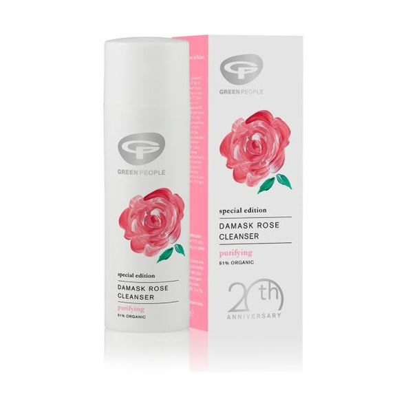 Green People Special Edition Damask Rose Cleanser 50ml