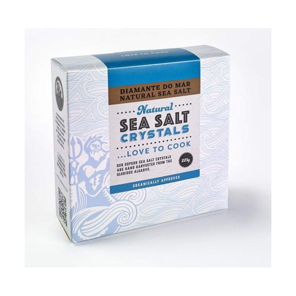 F.R. Benson And Partners Diamante Do Mar Natural Sea Salt Crystals 225g