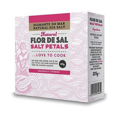 F.R. Benson And Partners Diamante Do Mar Natural Flor De Sal Salt Petals 225g