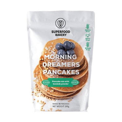 Superfood Bakery Morning Dreamers Pancake Mix 200g
