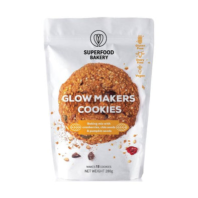 Superfood Bakery Glow Makers Cookie Mix 280g