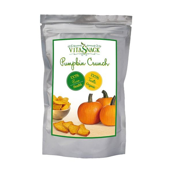 Natural Crunch Sl Vitasnack 100% Organic Raw Pumpkin Crunch 24g x 10
