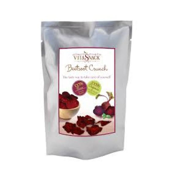 Vitasnack 100% Organic Raw Beetroot Crunch 24g x 8
