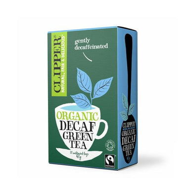 Kallo Foods (Co No 0289301 Clipper Green Decaf Tea  Organic 20 Bags