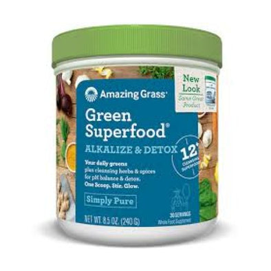 Glanbia Performance Nutrition Amazing Grass Green Superfood  Alkalize & Detox 240g