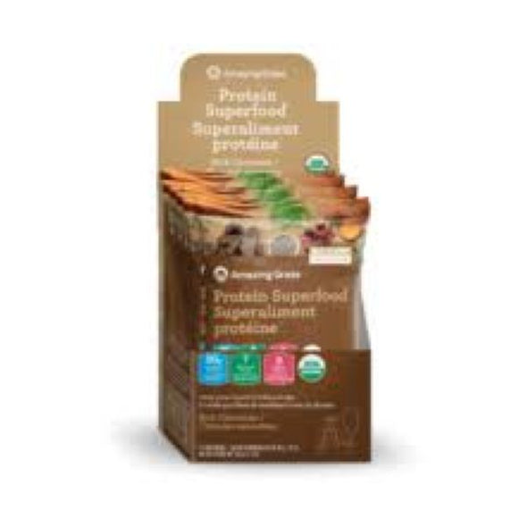 Glanbia Performance Nutrition Amazing Grass Protein Superfood  Rich Chocolate Sachets (10x36g)