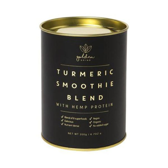 Golden Grind Turmeric Smoothie Blend With Hemp 200g