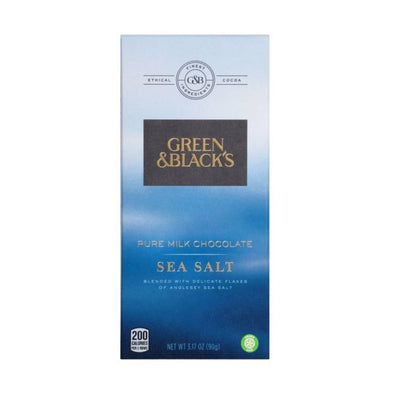 Mondelez Uk (Acc Rec Dept) Green & Blacks Sea Salt Chocolate Bar 90g x 18