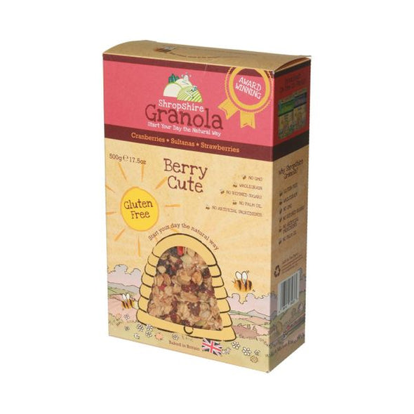 Natural Countryside Cereals Lt Shropshire/Gr Berry Cute Granola 500g