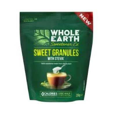 Pettywood Co Wholeearth Sw/Co Sweet Granules With Stevia 250g