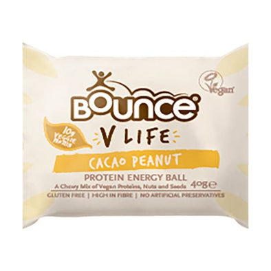 Bounce Food Limited Bounce V Life Vegan Ball  Cacao Peanut 40g x 40