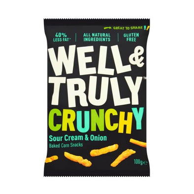 Well & Truly Limited Well & Truly Crunchy Cheese Snacks 100g x 20