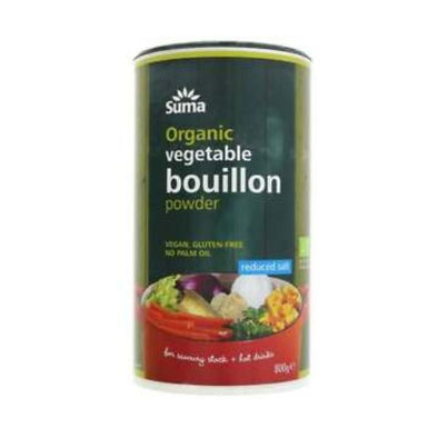 Suma Wholefoods Suma Organic Reduced Salt Bouillon 800g