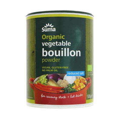 Suma Wholefoods Suma Organic Reduced Salt Bouillon 500g