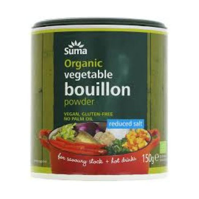 Suma Wholefoods Suma Organic Reduced Salt Bouillon 150g