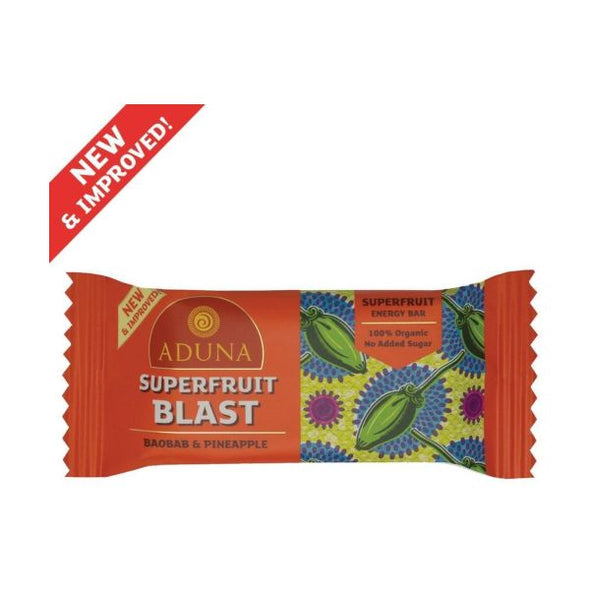 Aduna Superfruit Blast Superfood Energy Bar 40g x 16
