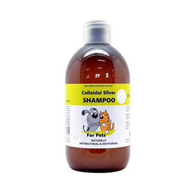 Optimised Energetics Natures G/Secret  Colloidal Silver For Pets - Shampoo x500ml