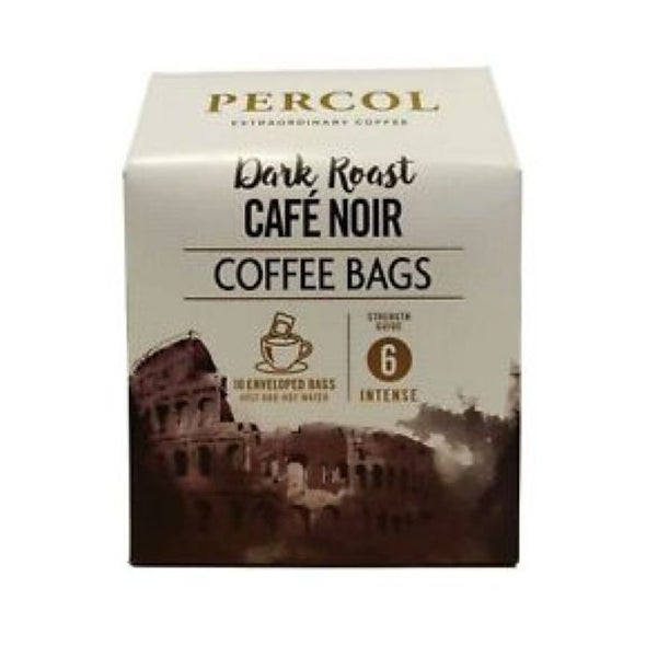 Food Brands Group Percol Italian Style Black & Beyond Ground Coffee Bags 10 Bags x 3