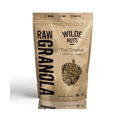 Wn&S Wholesale Wilde Nuts Raw The Original Granola 350g