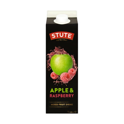 Stute Foods Stute Orange & Passion Fruit Juice Drink 1Ltr x 8