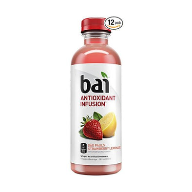 Red Star Beverages/Fulfil Bai Antioxidant Infusion  Sao Paulo Strawberry Lemon 530ml x 12