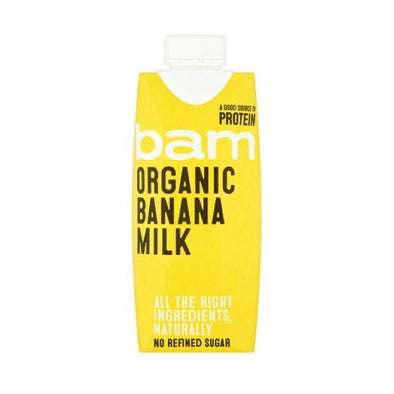 Bam Life Limited Bam Organic Natural Banana Milk Drink 330ml