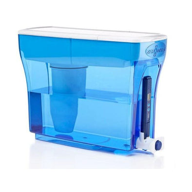 2Tech Limited Zerowater 5.4Ltr Water Filter Dispenser  Blue Single