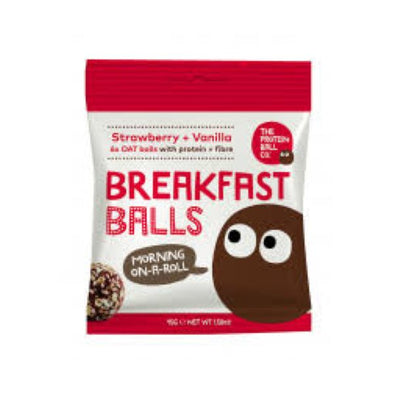 Skinilean Protein Ball Co Strawberry & Vanilla Protein Ball 45g x 10