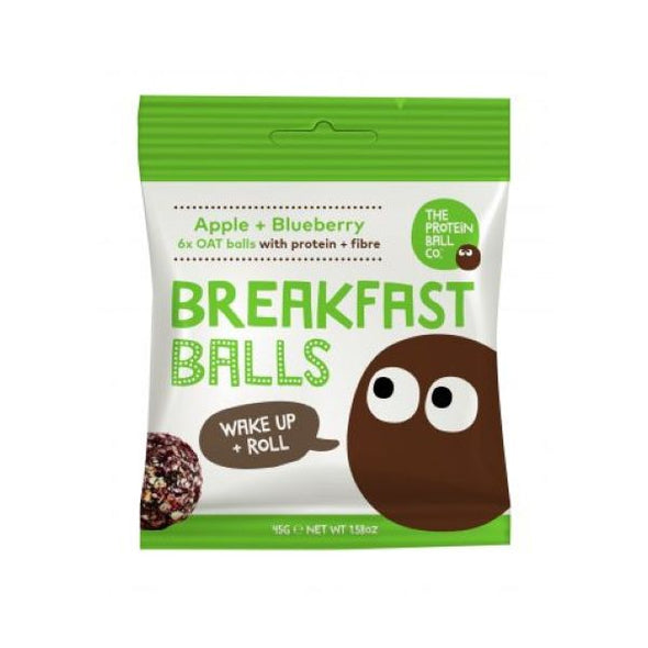 Skinilean Protein Ball Co Apple & Blueberry Protein Ball 45g x 10