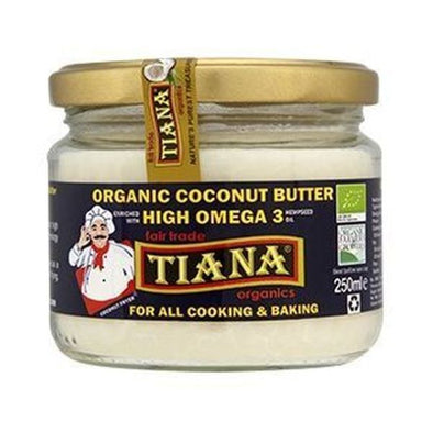 Tiana High Omega 3 Coconut Butter 250ml