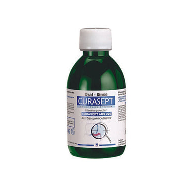 Curasept ADS® Alcohol-Free Mouthwash 0.05% 200 ml Bottle
