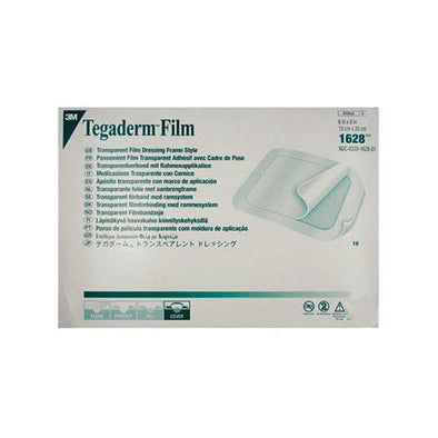 Tegaderm™ Film Dressing Rectangle Transparent 20 x 15 cm 10 Piece per Pack
