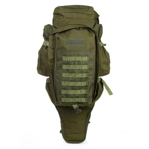60 Liter Military Tactical Backpack with Rifle Case
