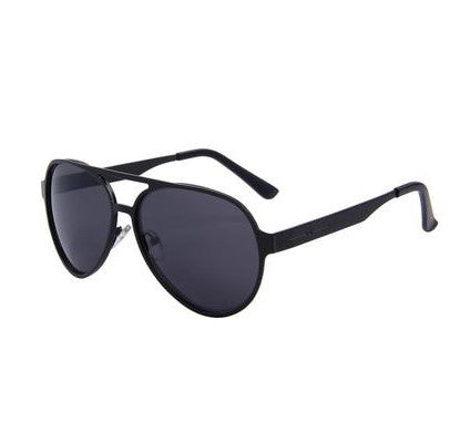 MERRY'S Alloy Frame Oval Mirror Lens Sunglasses UV400