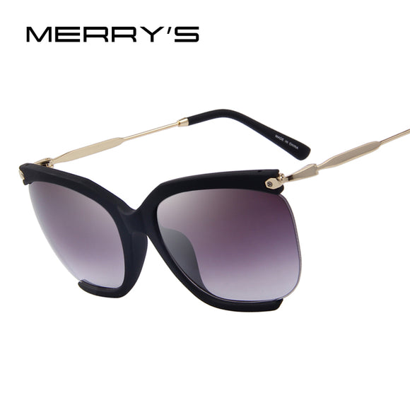 MERRY'S Fashion Womens Classic Semi-Rimless Sun glasses UV400