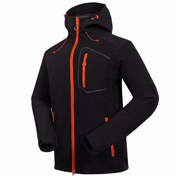 Mountainskin Men's Windstopper Waterproof Outdoor Jacket