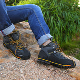 GOMNEAR Waterproof Antiskid Hiking Boots