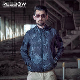 REEBOW TACTICAL Lightweight Hooded Shell Jacket