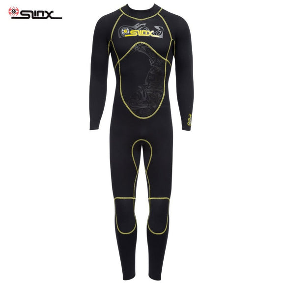 SLINX 1101 Men 3MM Quality Diving Suit Long Sleeve Wetsuit