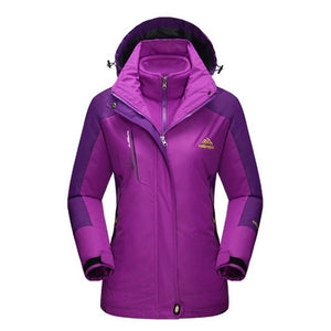 Mountainskin Women's Winter 2-piece Winter Coat