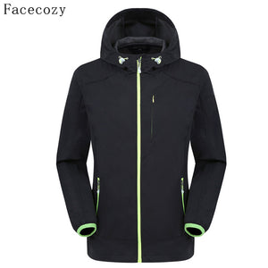 Facecozy Men's Softshell Quick Drying Jacket