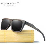 EZREAL Polarized Wood Sunglasses EZ029